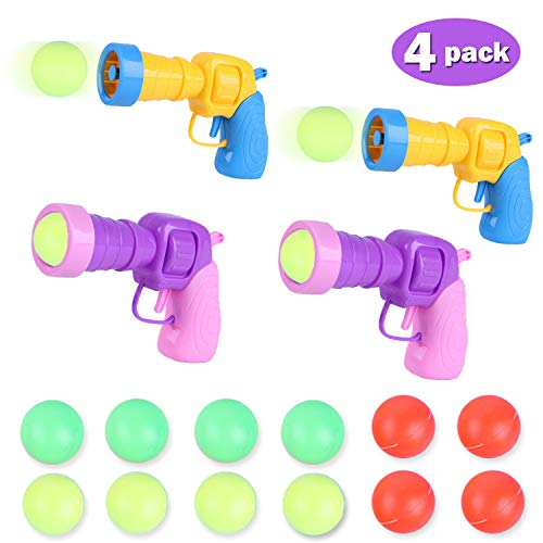 Kids Pingpong Gun Bathroom Toy Playing Play Water Gun,Infant Beach Game Boy Girl Outdoor Party Shooter Shot Guns Toys Plastic Air Power Popper Shooting Foam Battle