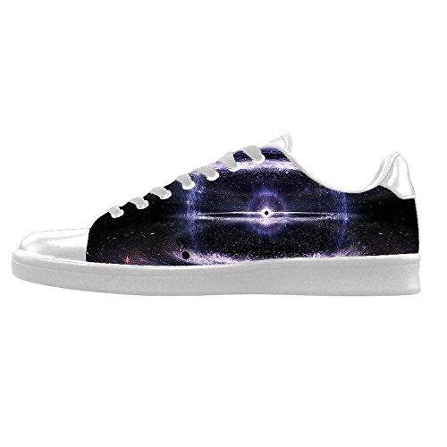 Custom Universo piatto Mens Canvas shoes I lacci delle scarpe in Alto sopra le scarpe da ginnastica di scarpe scarpe di Tela. Muchos Tipos De Venta WOLtgy