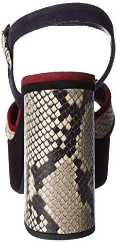 Mercadal Namibia Camoscio Sandales Atelier Plateforme Femme Julia Nero Roccia Noir 8wgxqvdY