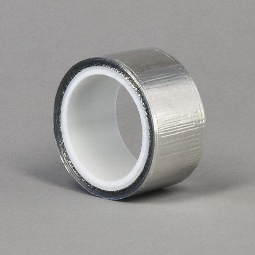 TapeCase 1449 - Cinta de aluminio brillante (1 rollo), color plateado 1/2-5-1449