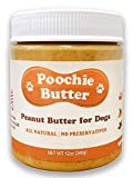 Dog Peanut Butter (2 Pack) All Natural Peanut Butter for Dogs |...