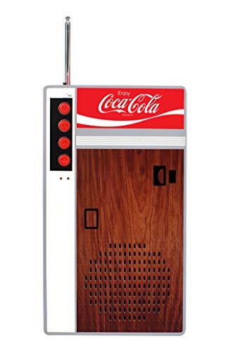Coca Cola Retro Style Bluetooth Speaker and FM Radio - Vending Machine Design