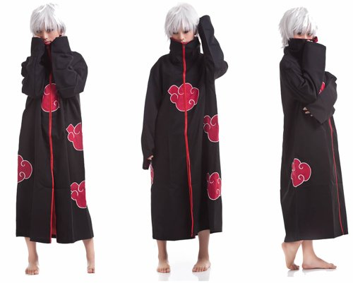 Cosplay Akatsuki Sasuke Itachi Costume Cloak (Sasuke Costumes)