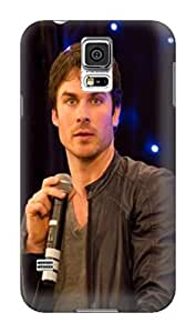 Cool Ian Somerhalder The fashionable Series Newest Protection TPU Case Cover for Samsung Galaxy s5 Kimberly Kurzendoerfer