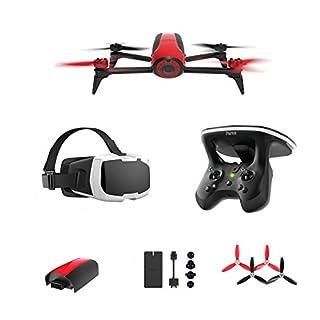 Parrot PF726200 - Dron Bebop 2 de 14 MP (GPS, FPV), rojo