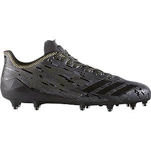 Adidas Men's Adizero 5-Star 6.0 X Kevlar Army Dipped Football Cleats (Black, 9.5 D(M) US)