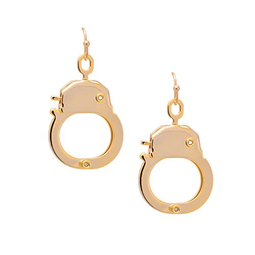 Spinningdaisy Gold Plated Functional Handcuff -
