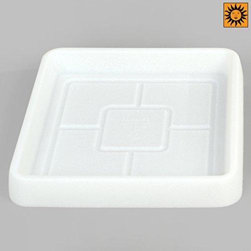 Design Toscano CF73502 Revolutionary Garden Decorations-fits CF3502 Saucer, 10.5'', White by Design Toscano