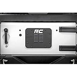 Rough Country 10514 Rough Country-10514-Jeep Tailgate Vent/Spare Tire Mount Delete JKU for Jeep 4WD, 07-18 Wrangler Unlimited JK