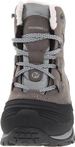 Merrell SNOWBOUND MID WTPF J55624 - Botas de nieve para mujer Negro carbón