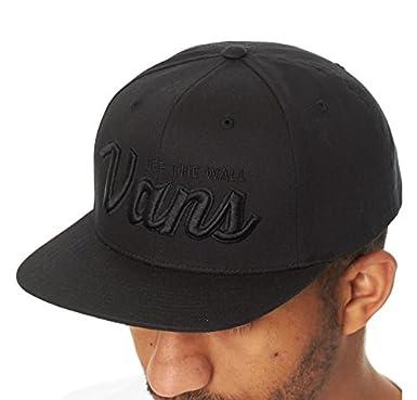 c7a0d0e7970 Vans Black Wilmington Snapback Cap  Amazon.co.uk  Clothing