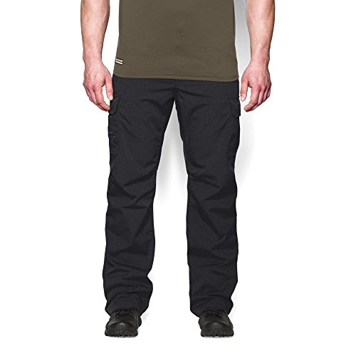 Under Armour Men's Storm Tactical Patrol Pants, Black/Black, 32/30