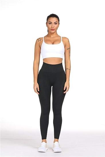 Women Seamless Stretch Yoga Pants Squat Proof Workout Leggings Hip Butt Lifting Gym Fitness Sport Capri