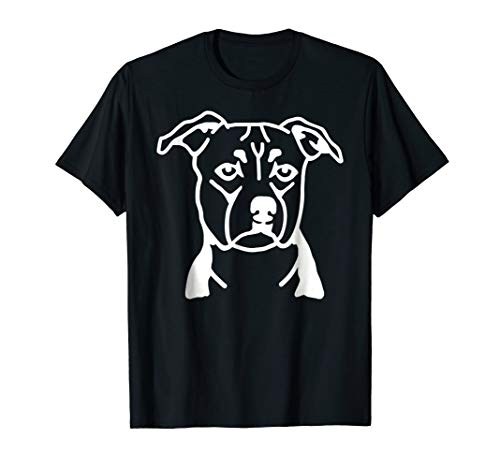 Staffordshire Terrier face T-Shirt
