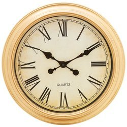 BrookwoodTM 16 Round Wall Clock