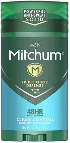 Mitchum Men Stick Solid Antiperspirant Deodorant, for Men, 2.7oz.
