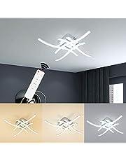 Wayrank Led-plafondlamp, dimbaar