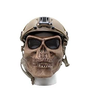 Amazon.com: Wisedeal Cool ejército M02 calavera Warrior ...