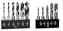 Milescraft Wood & Metal Stubby Drill Bit Combo Pack