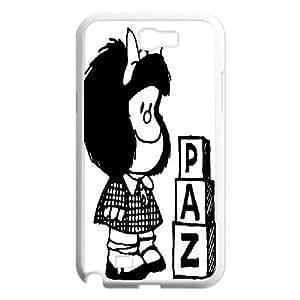 Samsung Galaxy Note 2 Cases Mafalda Paz, Tyquin, [White]