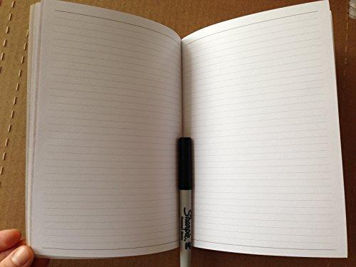 "Raika 141R Lined 7.5"" x 10"" Journal Refill from Raika"