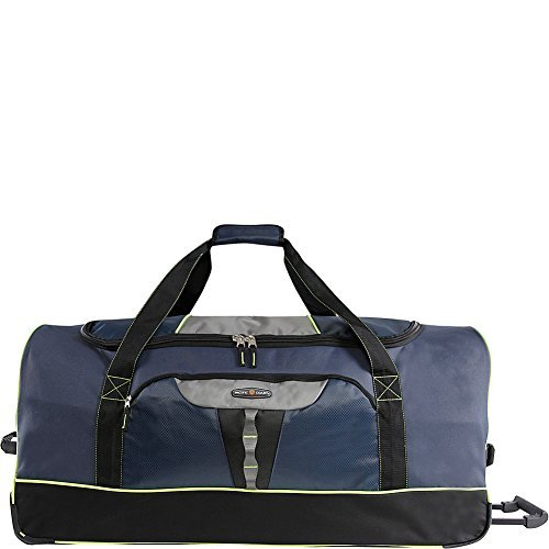 Pacific Coast 35' Extra Large Bag Rolling Duffel, Navy, One Size