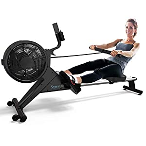Well-Being-Matters 41GymrjjItL._SS300_ SereneLife Smart Rowing Machine-Home Rowing Machine with Smartphone Fitness Monitoring App-Row Machine for Gym or Home…