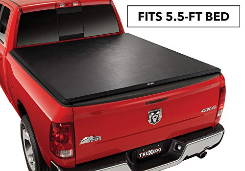 "TruXedo TruXport Soft Roll-up Truck Bed Tonneau Cover | 285901 | fits 2019 Ram 1500 New Body Style 5'7"" Bed"