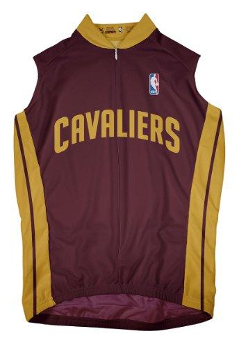 NBA Cleveland Cavaliers Men's Sleeveless Cycling Away Jersey, Large, ()