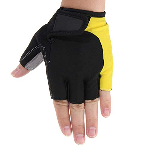 Amazon.com : Biking Gloves Men - Mens Cycling Gloves - Cycling Gloves Half Finger Mens Gel Shockproof Breathable Motocross Bike Bicycle Gloves -1Pair - L ...
