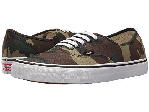 Vans Authentic Woodland Black/Woodland Black/Woodland (Woodland),Size 8.5 Women/7 Men