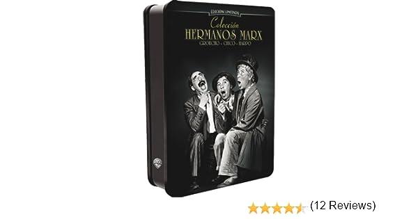 Colección Hermanos Marx (Cofre) [DVD]: Amazon.es: Chico Marx ...
