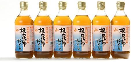 [スポンサー プロダクト]アイビック食品 北海道日高産 根昆布だし 6本セット (500ml×6本)