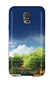 Hot Perfect Tpu Case For Galaxy S5/ Anti-scratch Protector Case (panoramic)