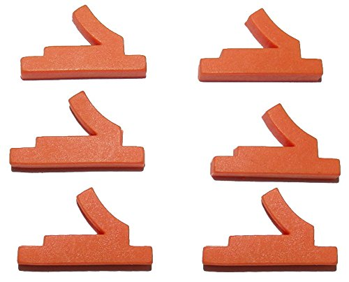 Tippmann Custom 98 Replacement - [6 Pack] Tippmann Ball Detent Latch (98, A5, X7) - by Captain O-Ring (Ball Keeper)