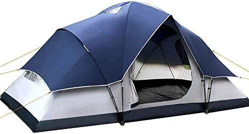 free shipping 15a06 fa5df Weisshorn 6 Person Family Camping Dome Tent Canvas Swag ...