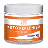 Cheap Kiss My Keto Electrolytes Powder – 90 Servings, Mixed Berry Energy Supplement for Ketogenic Diet, Rapid Rehydration, Cramps, Recovery, Fatigue w/Himalayan Pink Salt, Calcium Potassium Magnesium Zinc