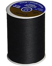Coats Thread & Zippers Coats Dual Duty All-Purpose Thread, 400 Yards/1 Spool of Yarn, Black