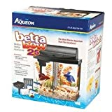 Aqueon Aquarium Betta-Bow 2.5 Gallon Acrylic Aquarium Kit