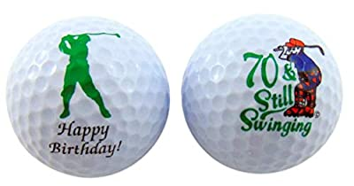Westman Works 70th Birthday Golf Balls Gift Pack for for Golfers
