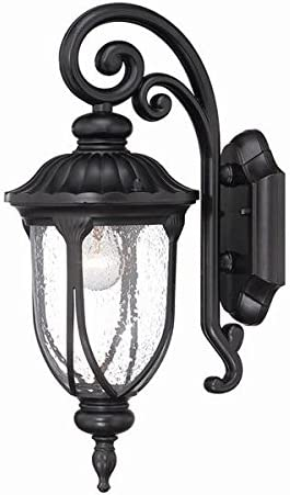 Acclaim 2202BK Laurens Collection 1-Light Wall Mount Outdoor Light Fixture