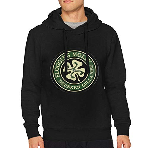 Similysimi Mans Flogging Molly Classic Music Band Long Sleeves Pullover XL Gift