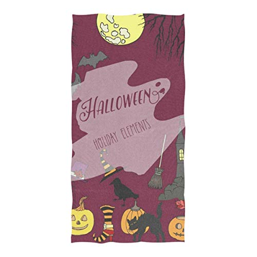 Beach Towel Halloween Holiday Decorations Beach Blanket Towel 74 x 37 Inch for Travel Pool Swimming Bath Camping Yoga Gym Sports]()