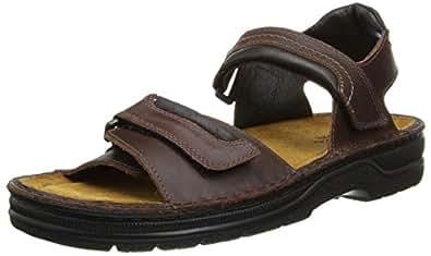 Amazon Com Naot Men S Lappland Flat Sandals