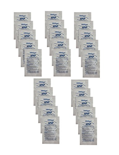 25 Non-Aspirin (Acetaminophen) Packets - Two 325mg Tablets Per Packet - 50 Tablets Total (Tylenol Generic)