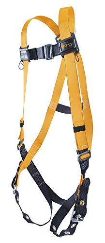 (Miller Titan by Honeywell TF4500/XXLAK Polyester T-Flex Stretchable Harness, XX-Large)