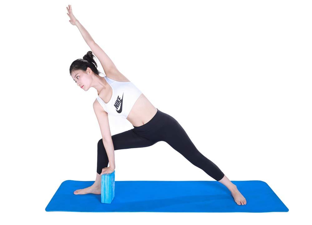 Ideal para Yoga y Pilates 40 Grados voidbiov 2 pcs Set Eva Yoga Bloque 3x6 x9 Ladrillos de Espuma Grado de Dureza