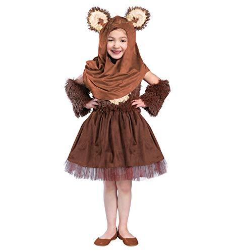 Girls Star Wars Wicket Dress Costume - S]()
