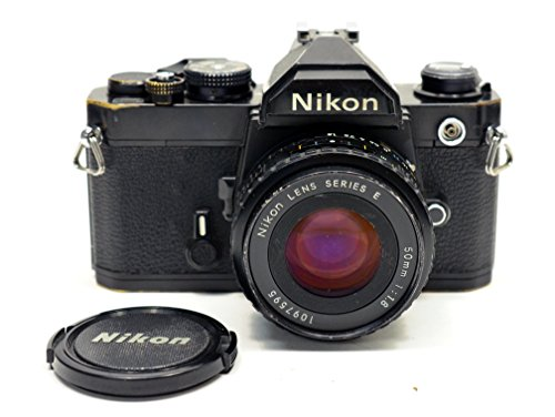 Black Nikon FM SLR film camera; body only, no lens. (Nikon Fm Film Camera)