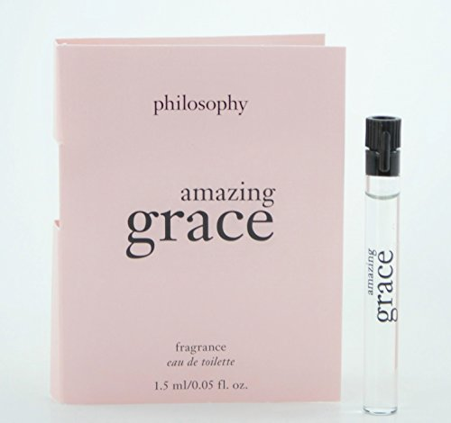 Philosophy Amazing Grace EDT Lot of 2 Samples .05 Oz/each with Card ()